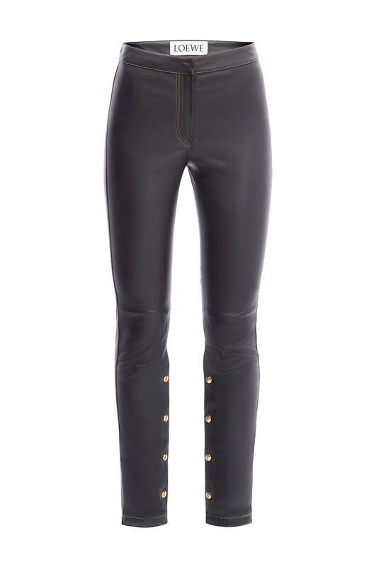 LOEWE Pantalon Stretch Negro all