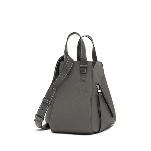 LOEWE Hammock Small Bag Anthracite front