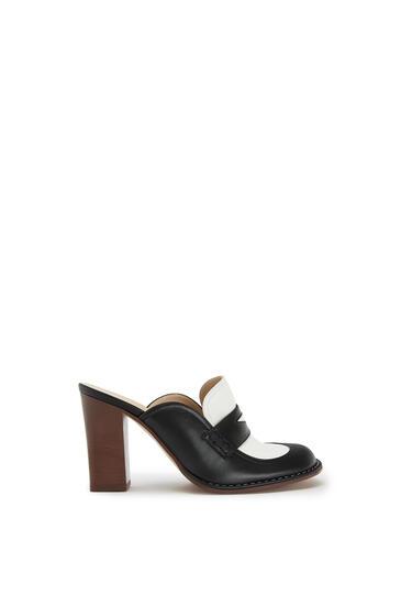LOEWE Loafer In Calfskin Black/White pdp_rd