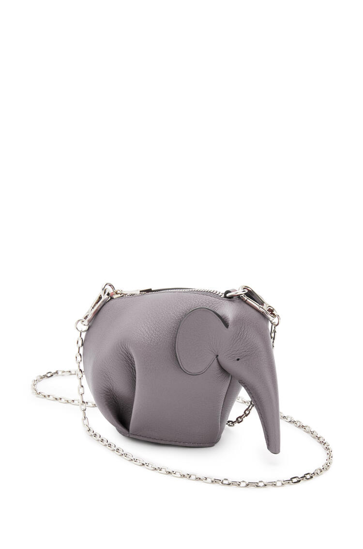 LOEWE Elephant pouch in classic calfskin Smoke pdp_rd