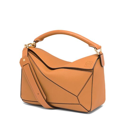 LOEWE Puzzle Bag Light Caramel front