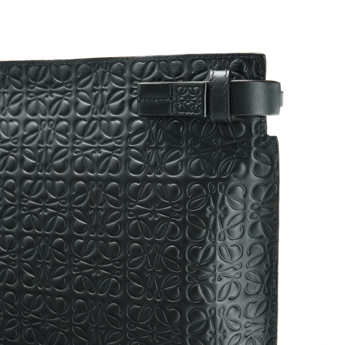 LOEWE T Pouch Repeat Negro front