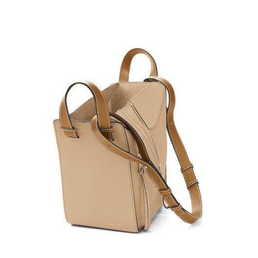 LOEWE Hammock Small Bag Sand/Mink Color all