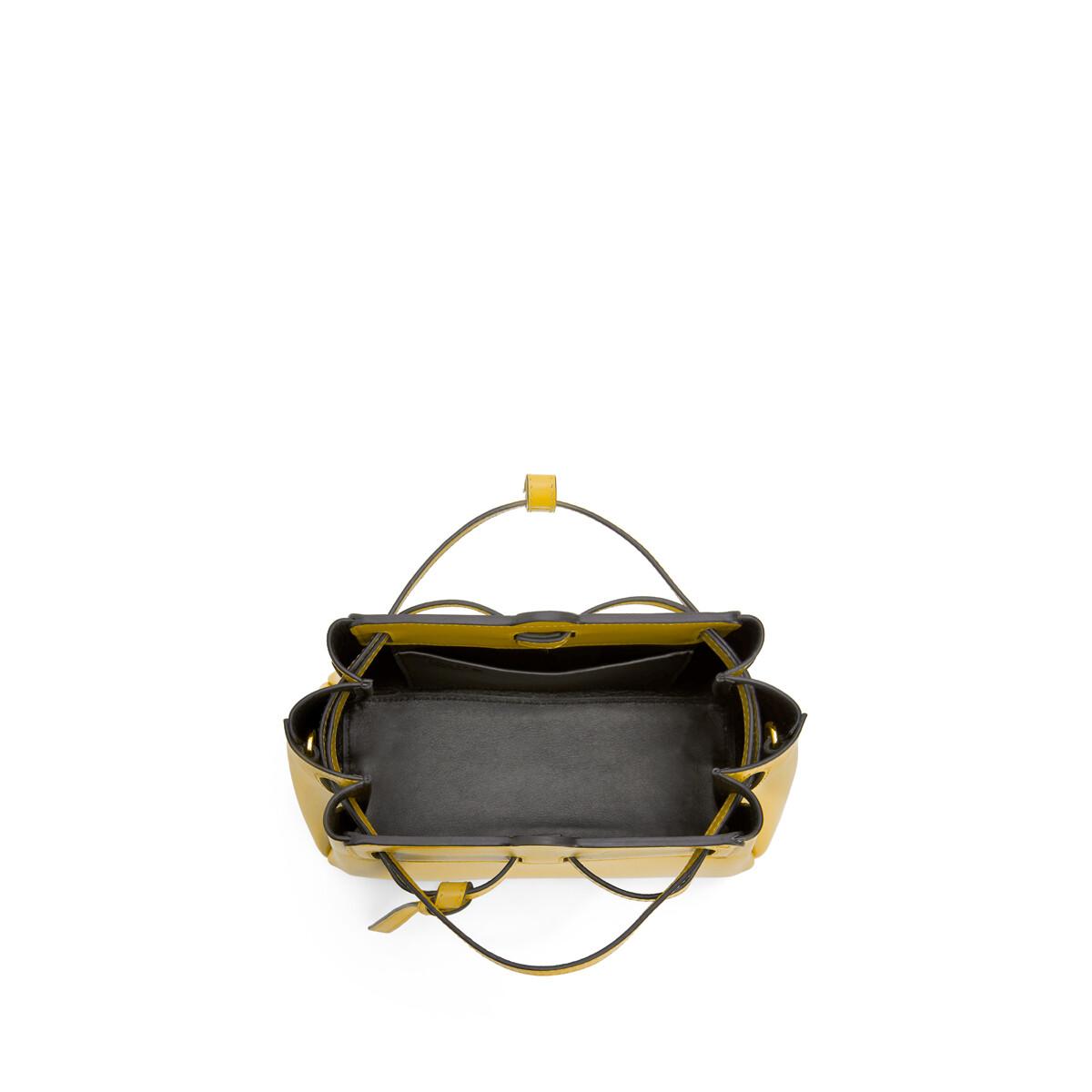LOEWE Lazo Mini Bag Yellow front