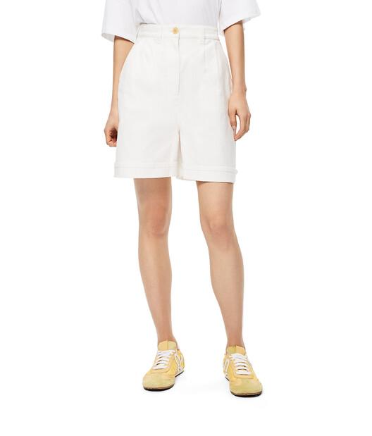 LOEWE Shorts White front