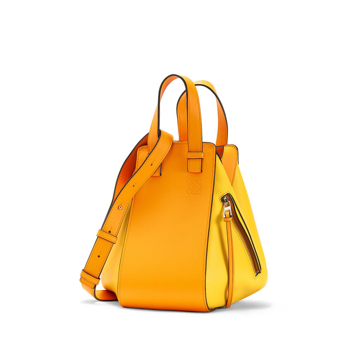 LOEWE Hammock Small Bag Mandarin/Yellow front