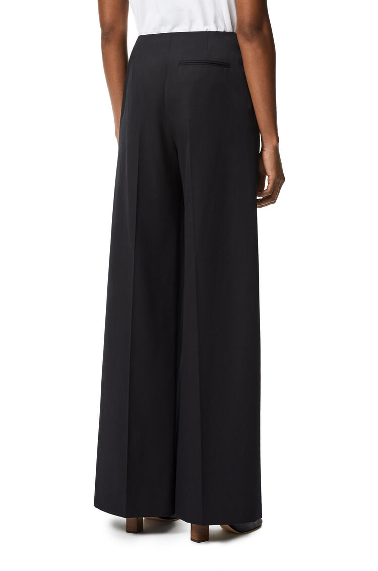 LOEWE High waisted trousers in wool and mohair Black pdp_rd