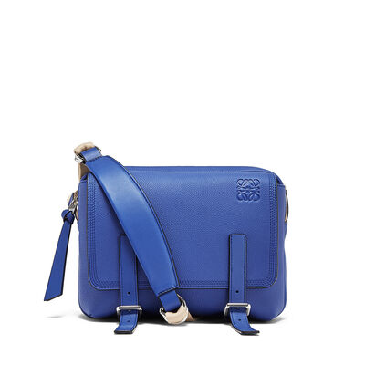 LOEWE Bolso Military Messenger Xs Azul Pacifico front