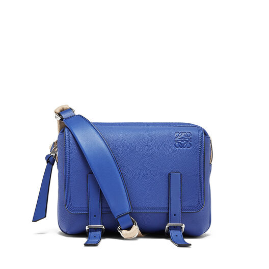 LOEWE Military Messenger Xs Bag Pacific Blue all
