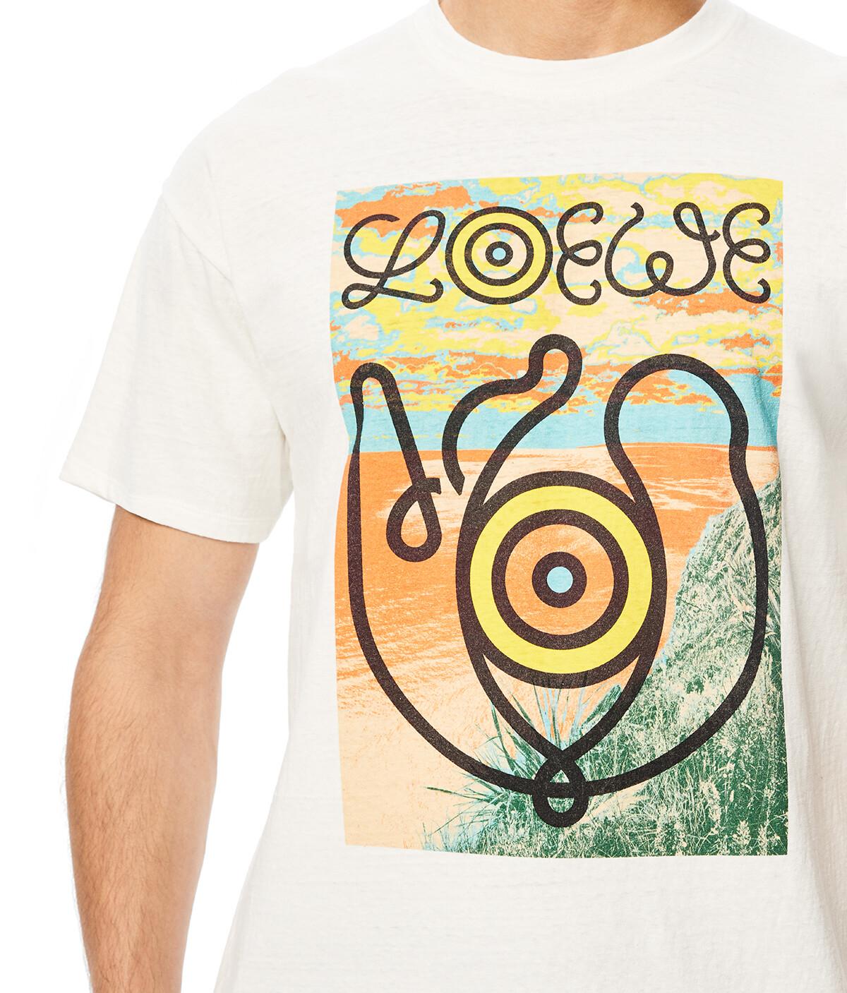 LOEWE T-Shirt Eln 白 front