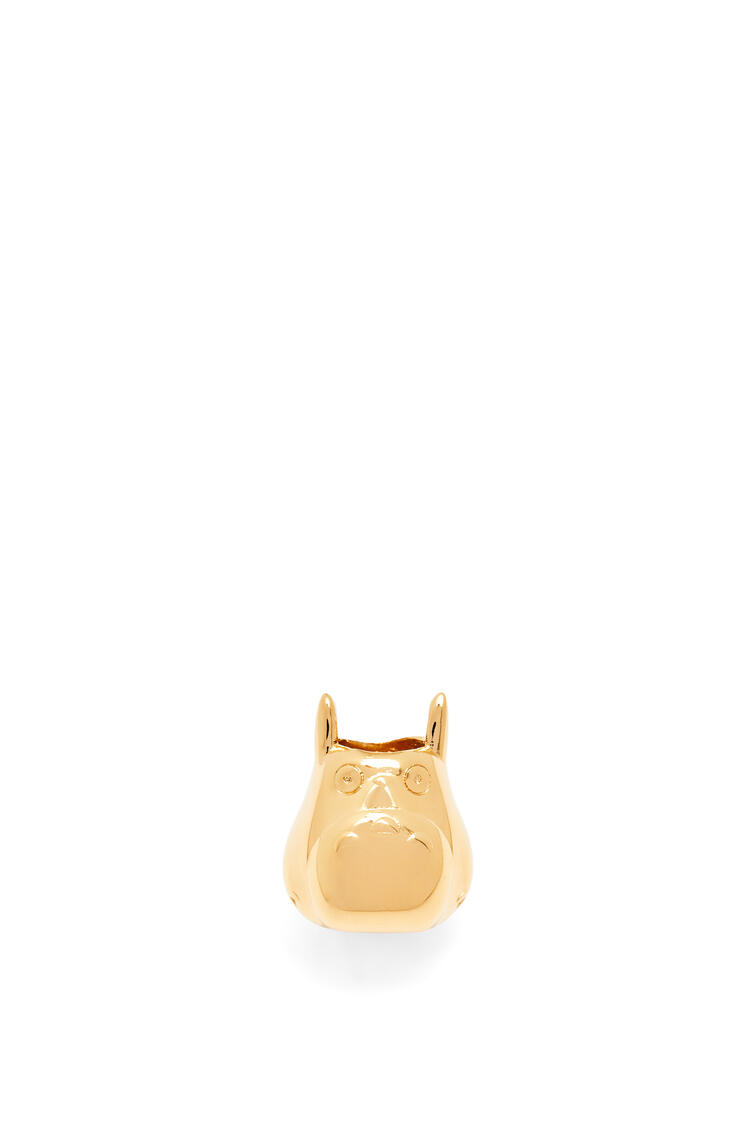 LOEWE Totoro Small Dice in brass Gold pdp_rd