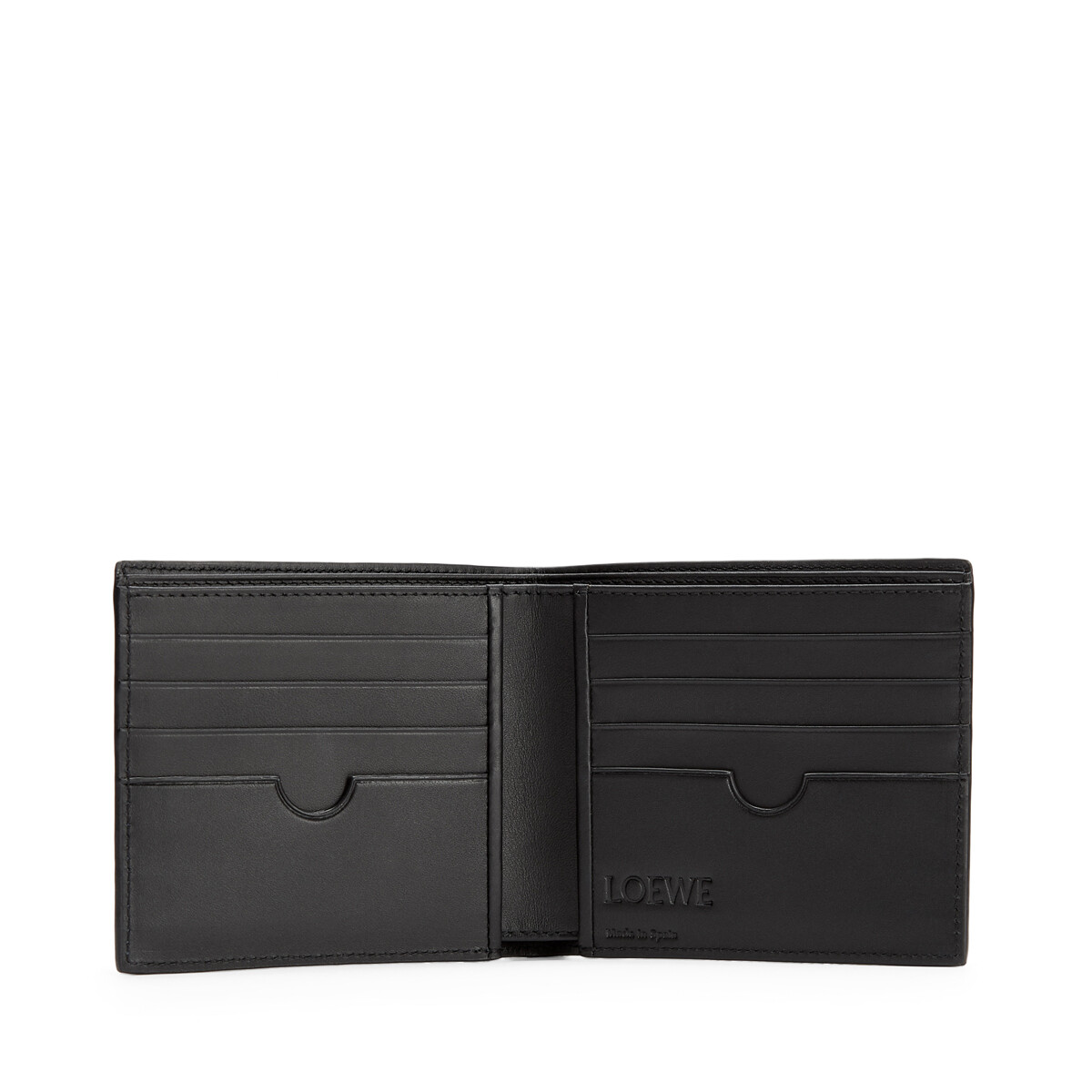 LOEWE Brand Bifold Wallet 靛藍 front