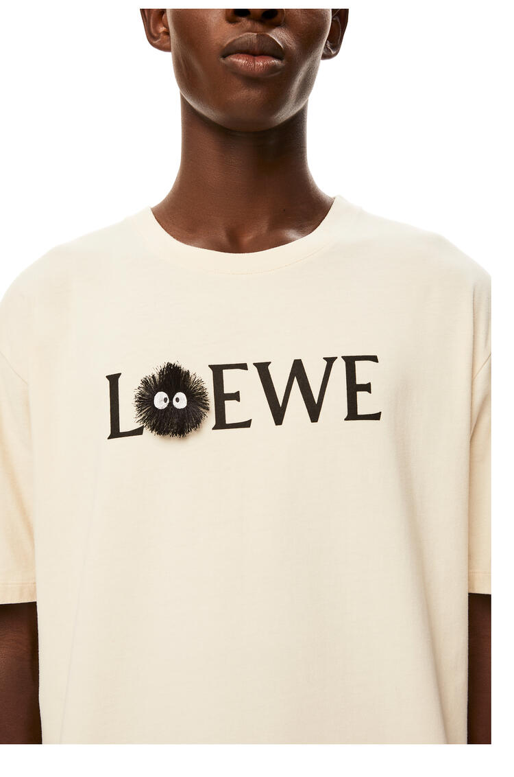 LOEWE Dust Bunnies T-shirt in cotton Ecru pdp_rd