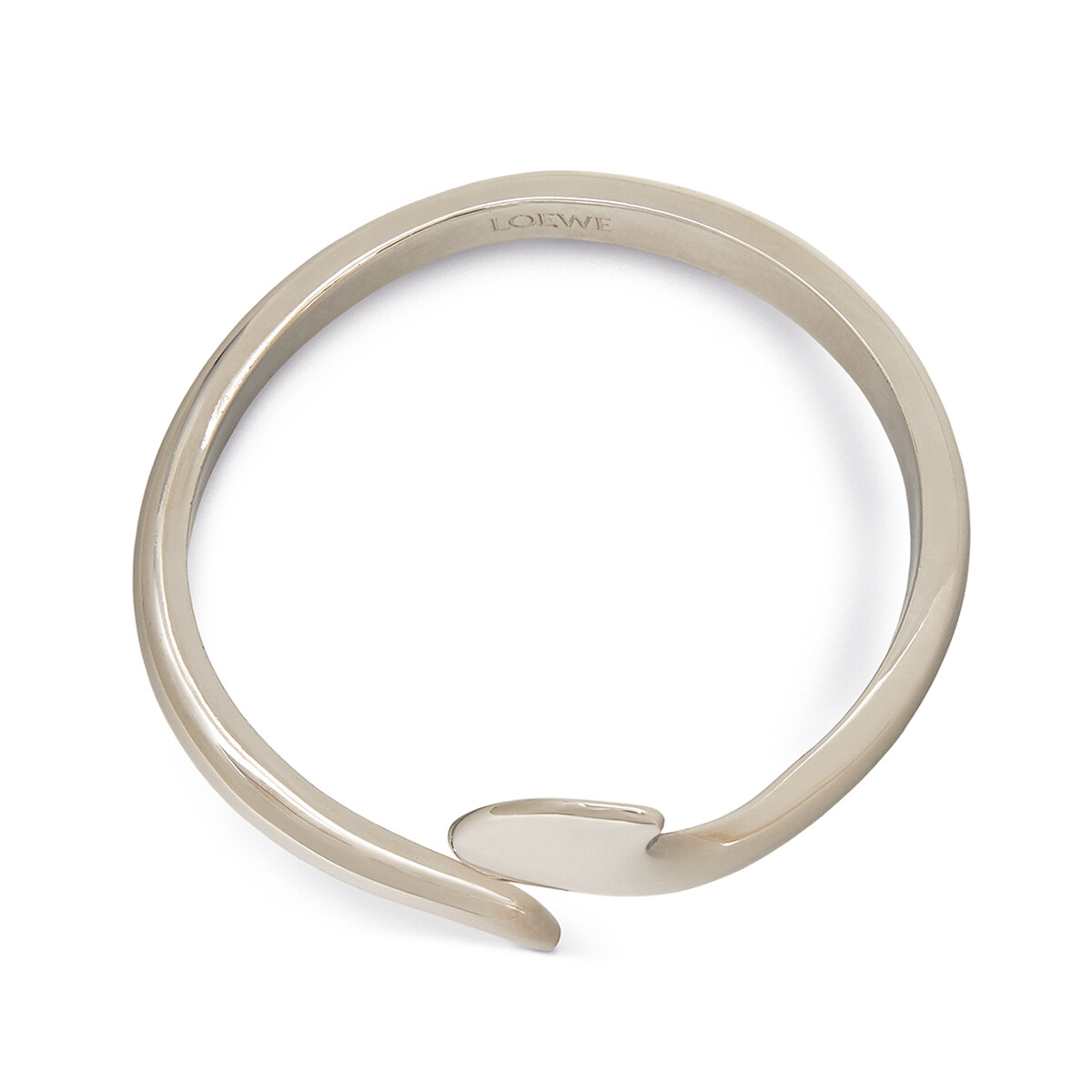 LOEWE Edge Bracelet Palladium front