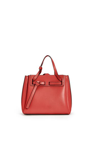 LOEWE Mini Lazo bag in box calfskin Rouge pdp_rd