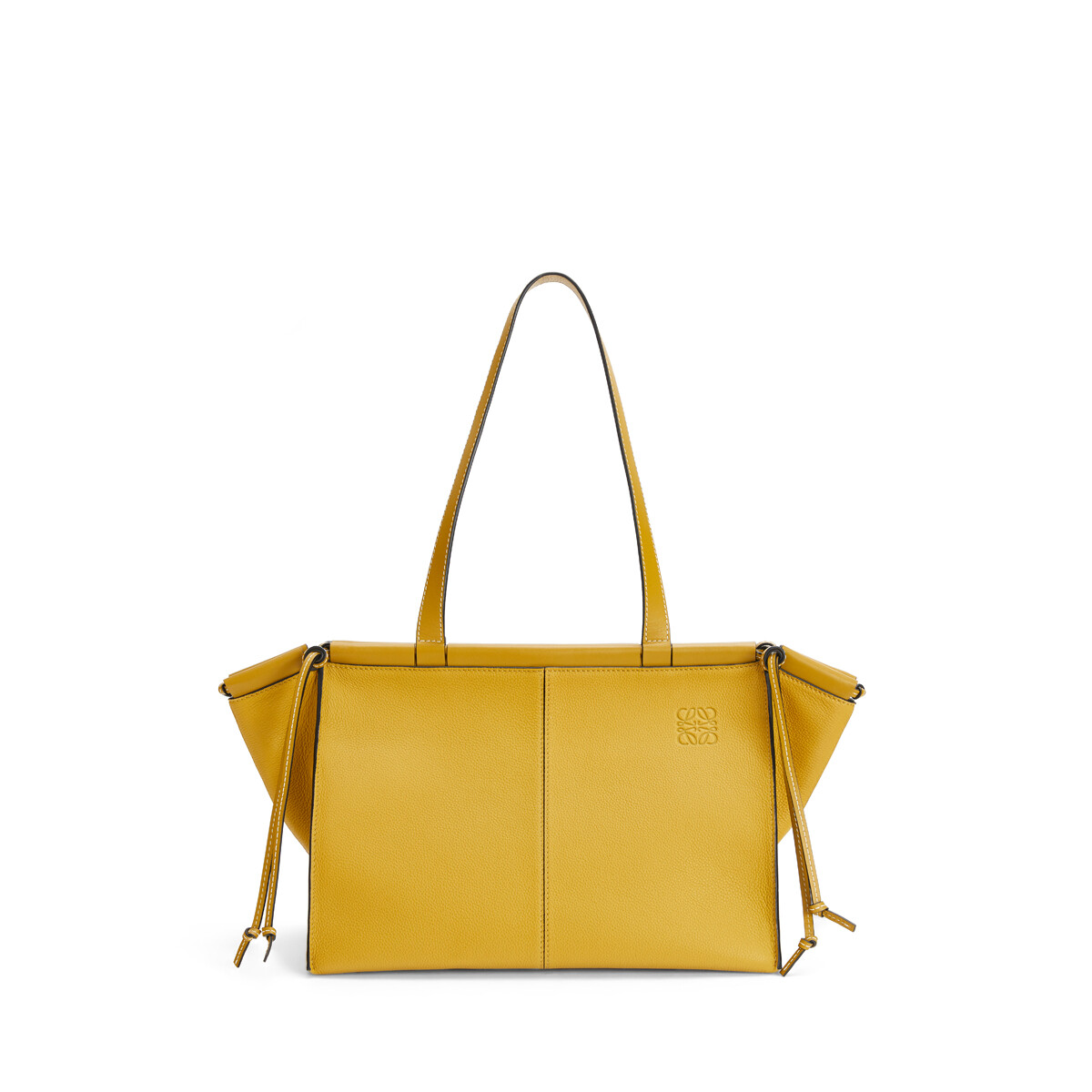 LOEWE Bolso Cushion Tote Pequeño Ocre front