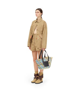 LOEWE Safari Jacket Beige front