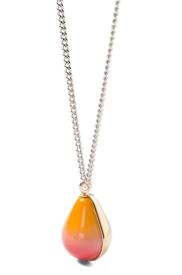 LOEWE Vermeer necklace 金色/橘色 pdp_rd