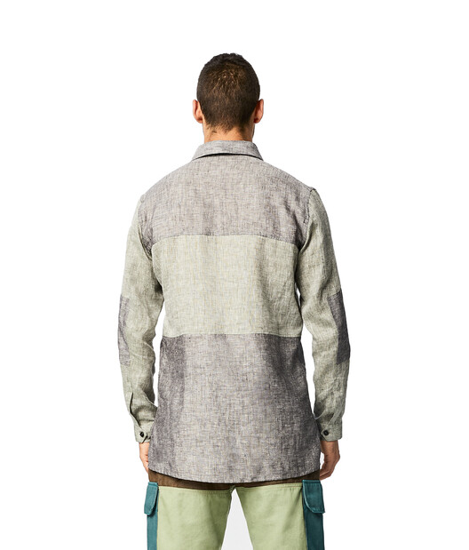 LOEWE Eye/LOEWE/Nature パッチ ポケット シャツ グレー front