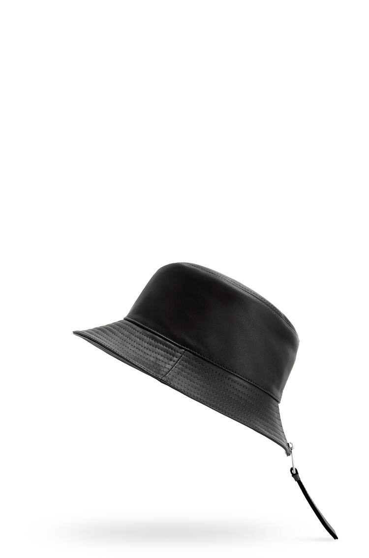 LOEWE Fisherman hat in nappa calfskin Black pdp_rd