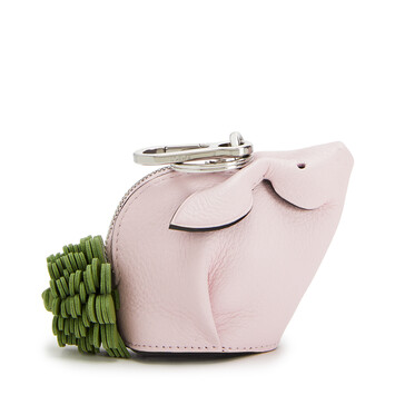 LOEWE Bunny Flower Charm Icy Pink front