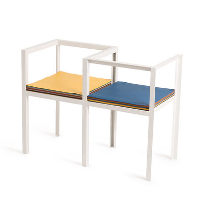 LOEWE Set Kissing Bench White/Multicolor front