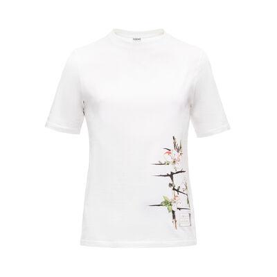 LOEWE T-Shirt Botanical White front