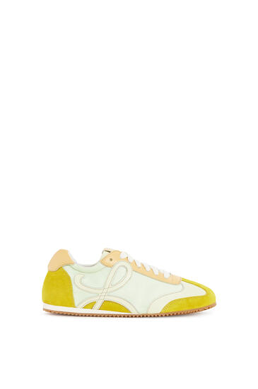 LOEWE Ballet Runner In Leather And Nylon yellow multitone pdp_rd