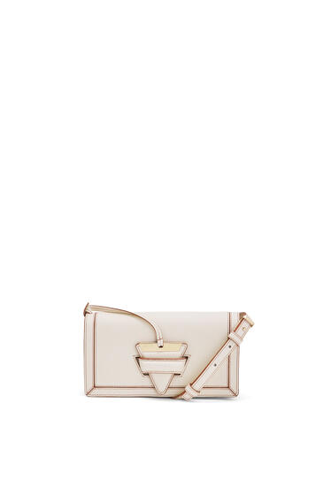 LOEWE Mini Barcelona soft bag in soft grained calfskin Light Oat pdp_rd
