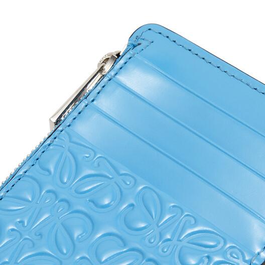 LOEWE Coin Cardholder Sky Blue front