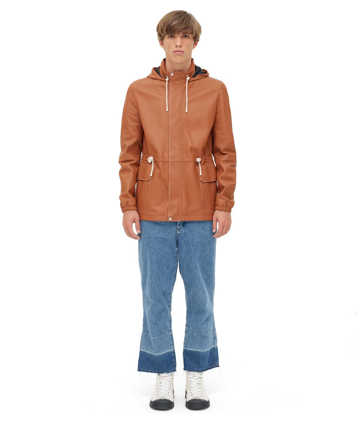 LOEWE Light Hiking Jacket Tan front