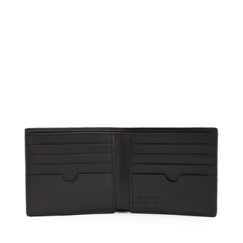 LOEWE Bifold Wallet Animals Black front