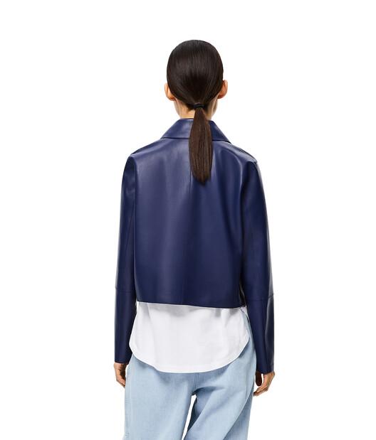 LOEWE Button Jacket Blue/Dark Navy Blue front