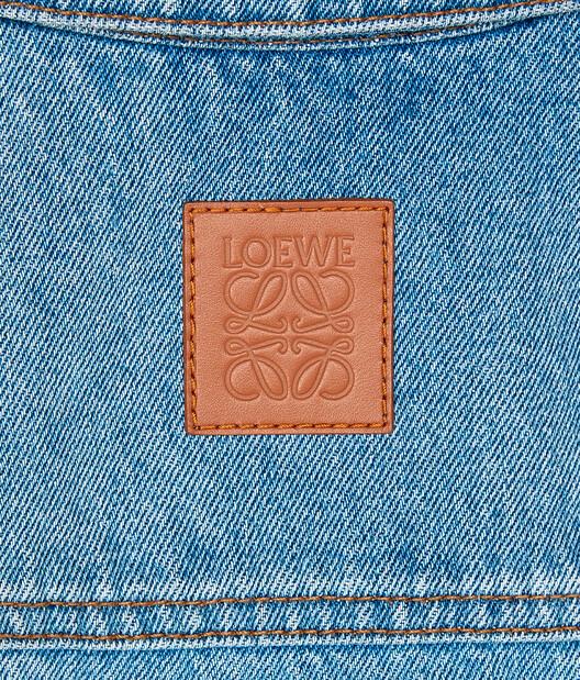 LOEWE Denim Jacket Washed Denim front