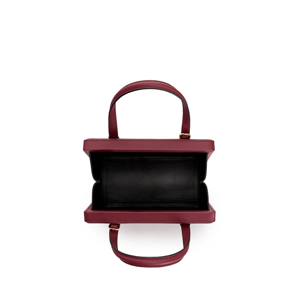 LOEWE Postal Small Bag Wine front
