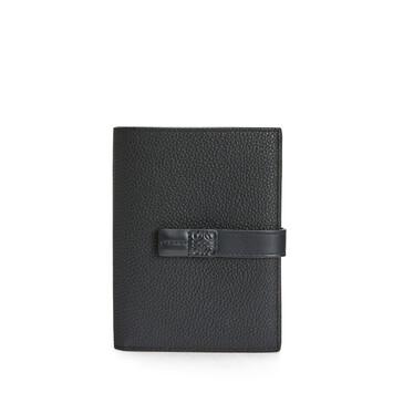 LOEWE Medium Vertical Wallet Black front