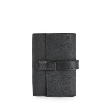 LOEWE スモール バーティカル ウォレット (ソフト グレイン カーフスキン) ブラック pdp_rd