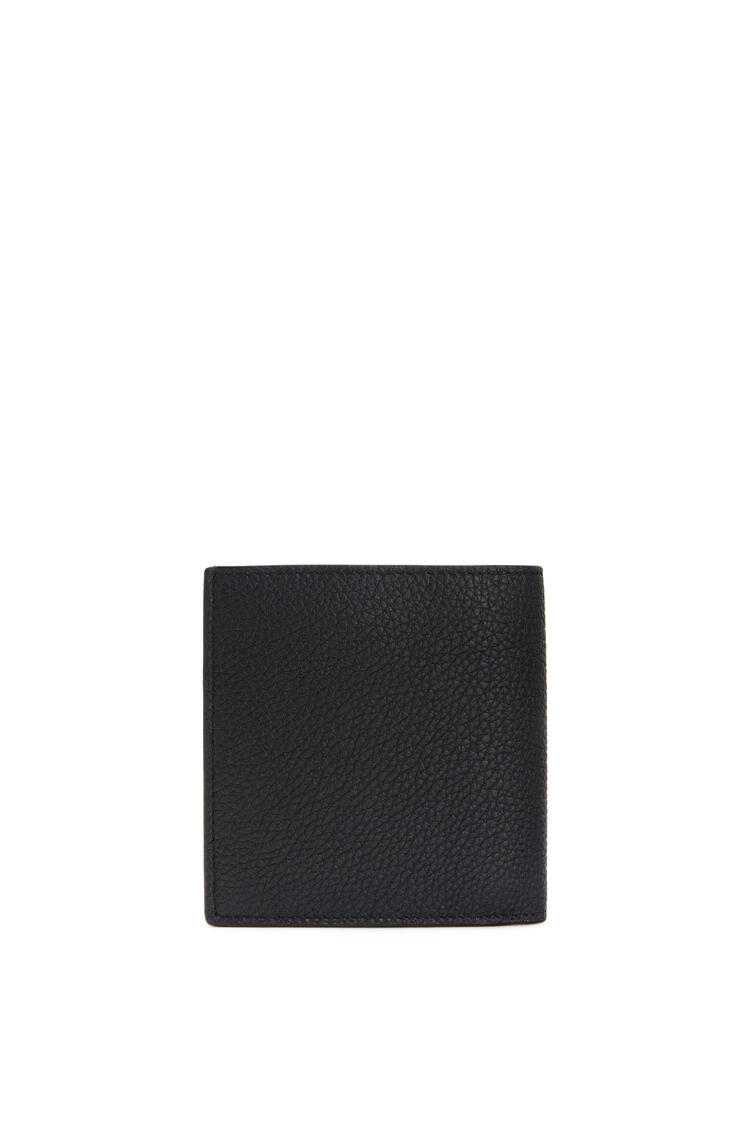 LOEWE Bifold wallet in grained calfskin Black pdp_rd