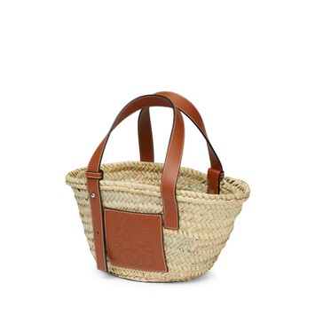 LOEWE Basket Small Bag Natural/Tan front