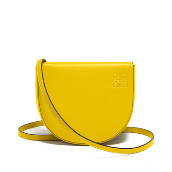 LOEWE Heel Mini Bag Yellow front