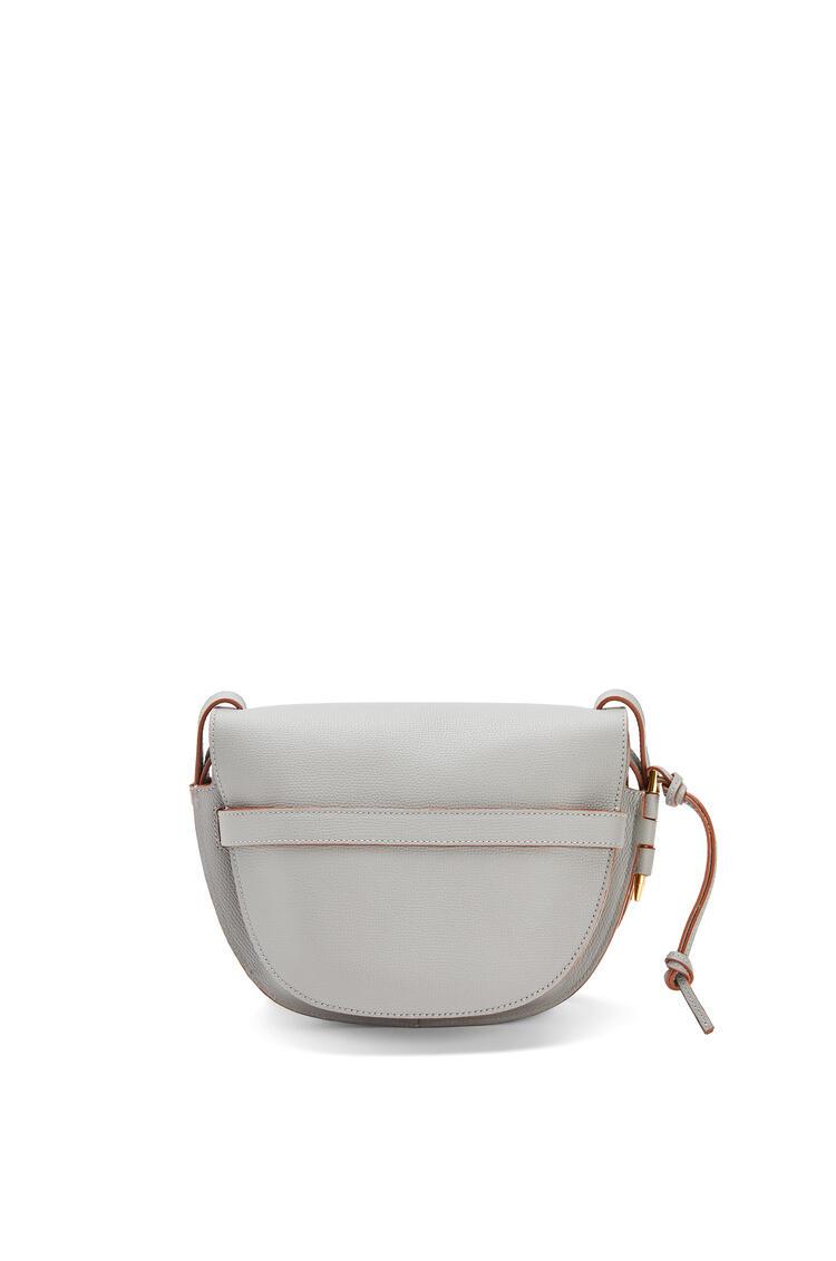LOEWE Small Gate bag in pebble grain calfskin Smoke pdp_rd