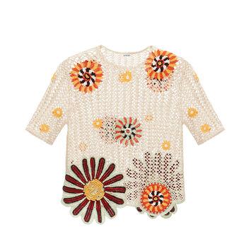 Crochet Top Flower