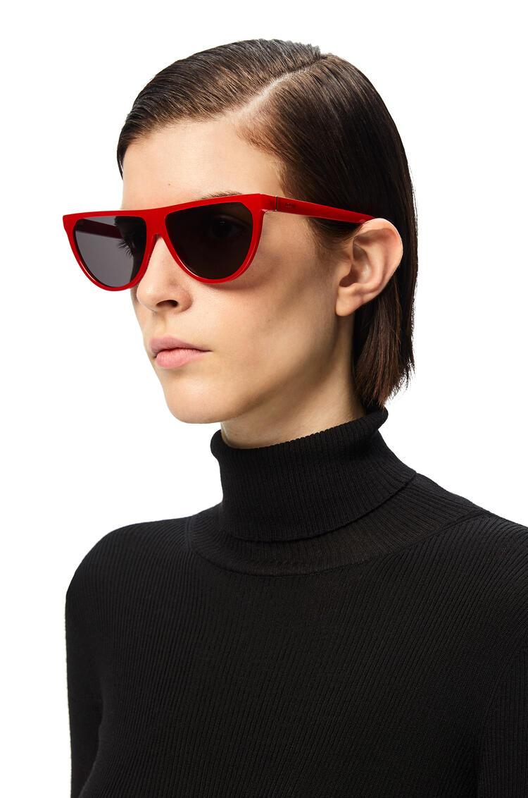 LOEWE Pilot Sunglasses in acetate Red pdp_rd