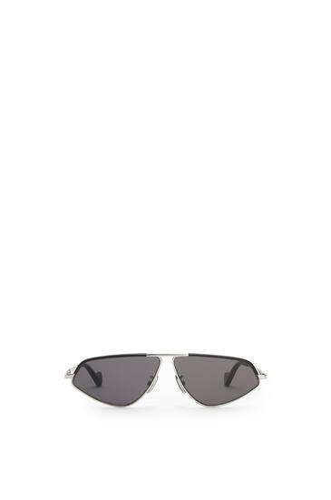 LOEWE Leather Geometric Sunglasses アンスラサイト pdp_rd
