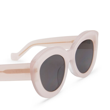 LOEWE Butterfly Sunglasses Peach front