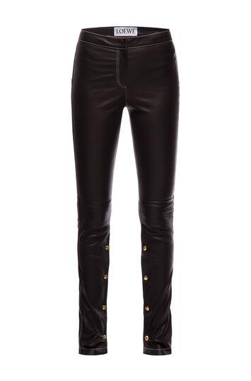 LOEWE Pantalon Stretch Negro front