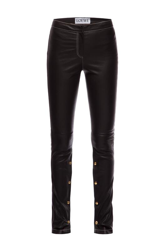 LOEWE Leggings Black front