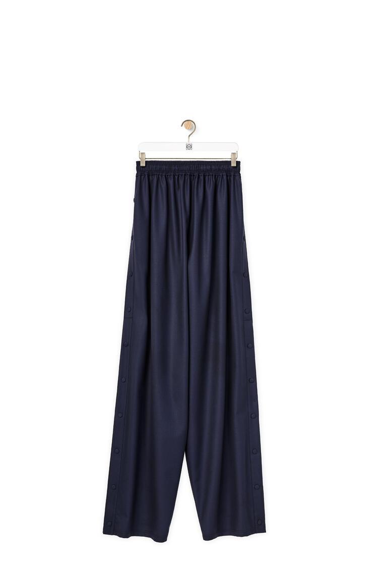 LOEWE Pantalón de chándal en lana Marino Oscuro pdp_rd