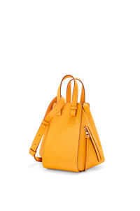LOEWE Small Hammock bag in pebble grain calfskin Yellow Mango pdp_rd