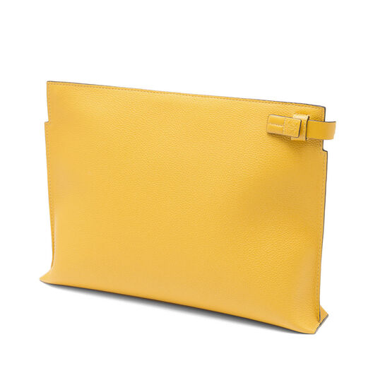 LOEWE T Pouch Yellow Mango all